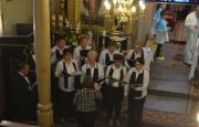 Chór parafialny z wizytą w Rożnowie