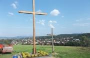 Nowy krzyż na Winnej Górze
