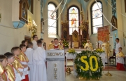 Złoty Jubileusz Kapłaństwa ks. Prałata J. Atłasa